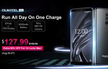 ¡El OUKITEL K8 puede salirte a mitad de precio con esta nueva oferta!