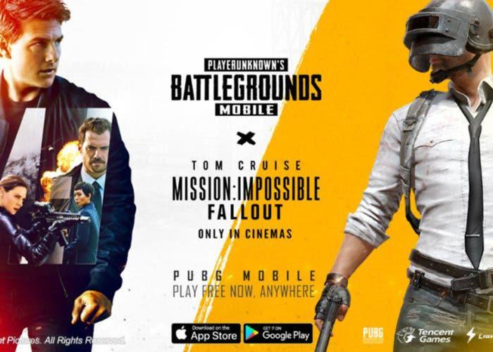 Novedades en PUBG Mobile gracias al estreno de Misión Imposible: Fallout