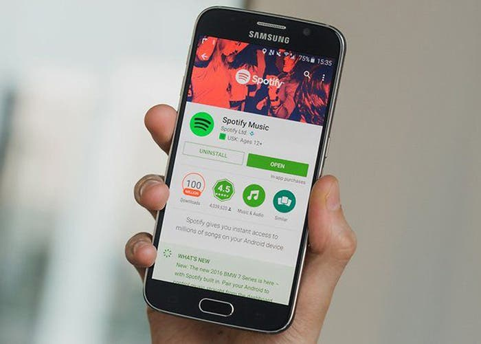 Spotify añade carátulas animadas en su aplicación