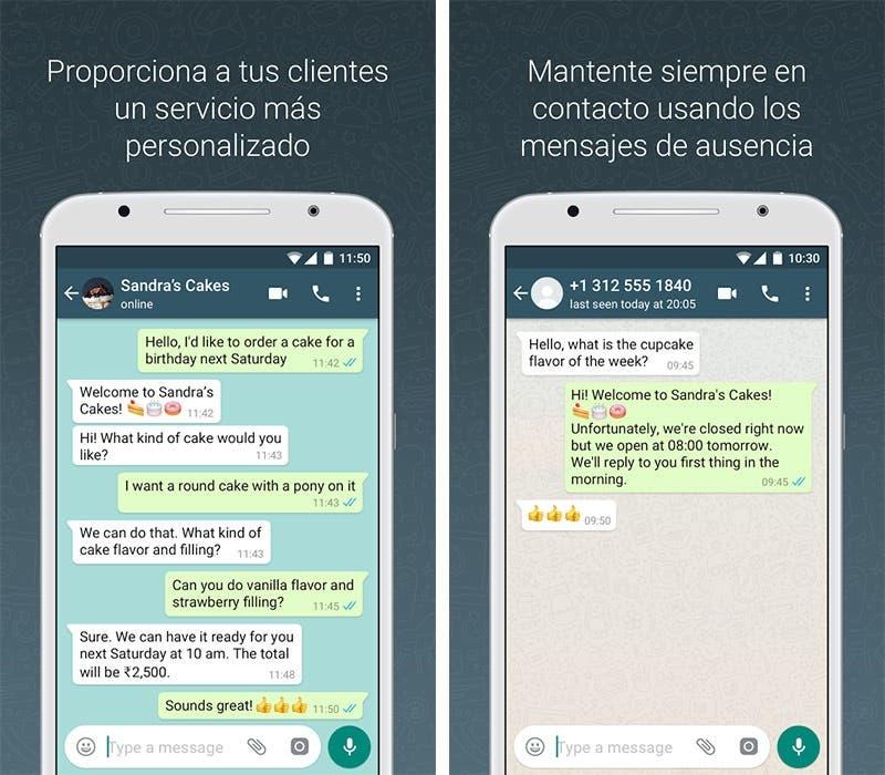 WhatsApp Facebook Publicidad