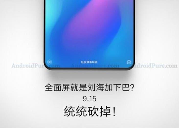 Filtrado el diseño del Xiaomi Mi MIX 3: cristal y nuevo diseño de cámara