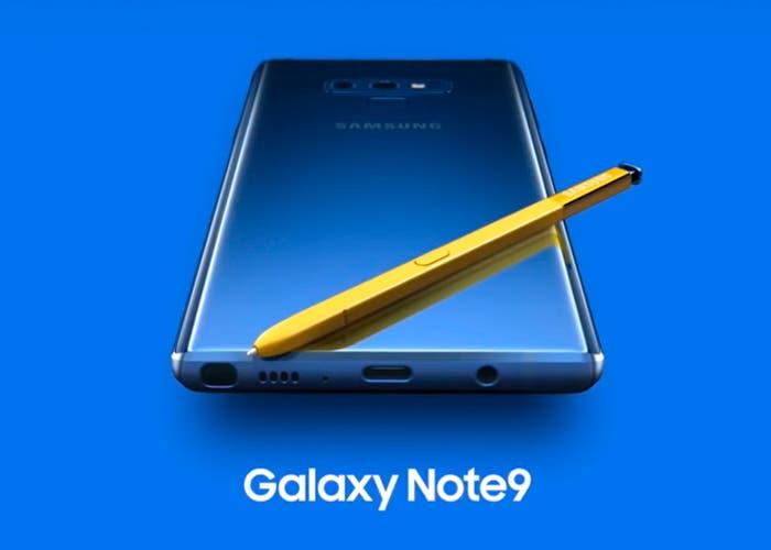 Nuevos detalles del Samsung Galaxy Note 9 salen a la luz