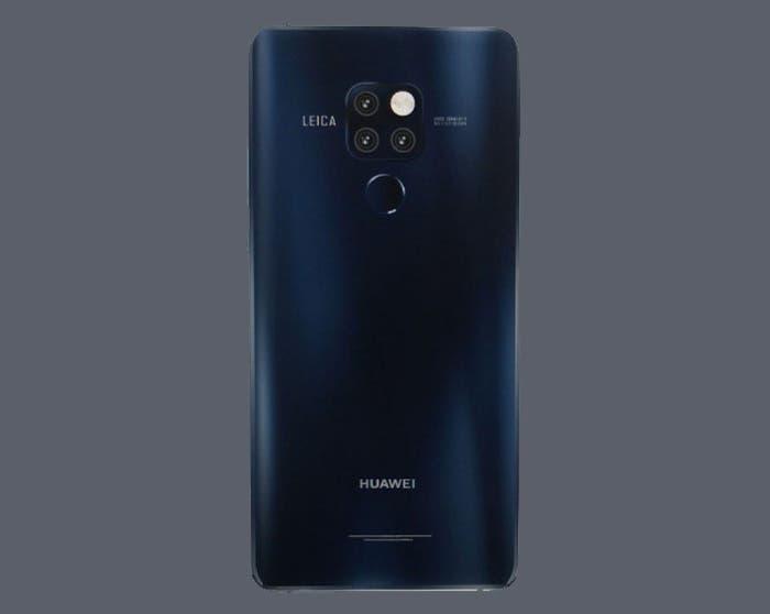 Así podría ser el Huawei Mate 20 Pro según los últimos renders
