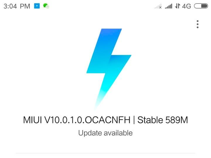 MIUI 10 Estable para el Xiaomi Mi 6