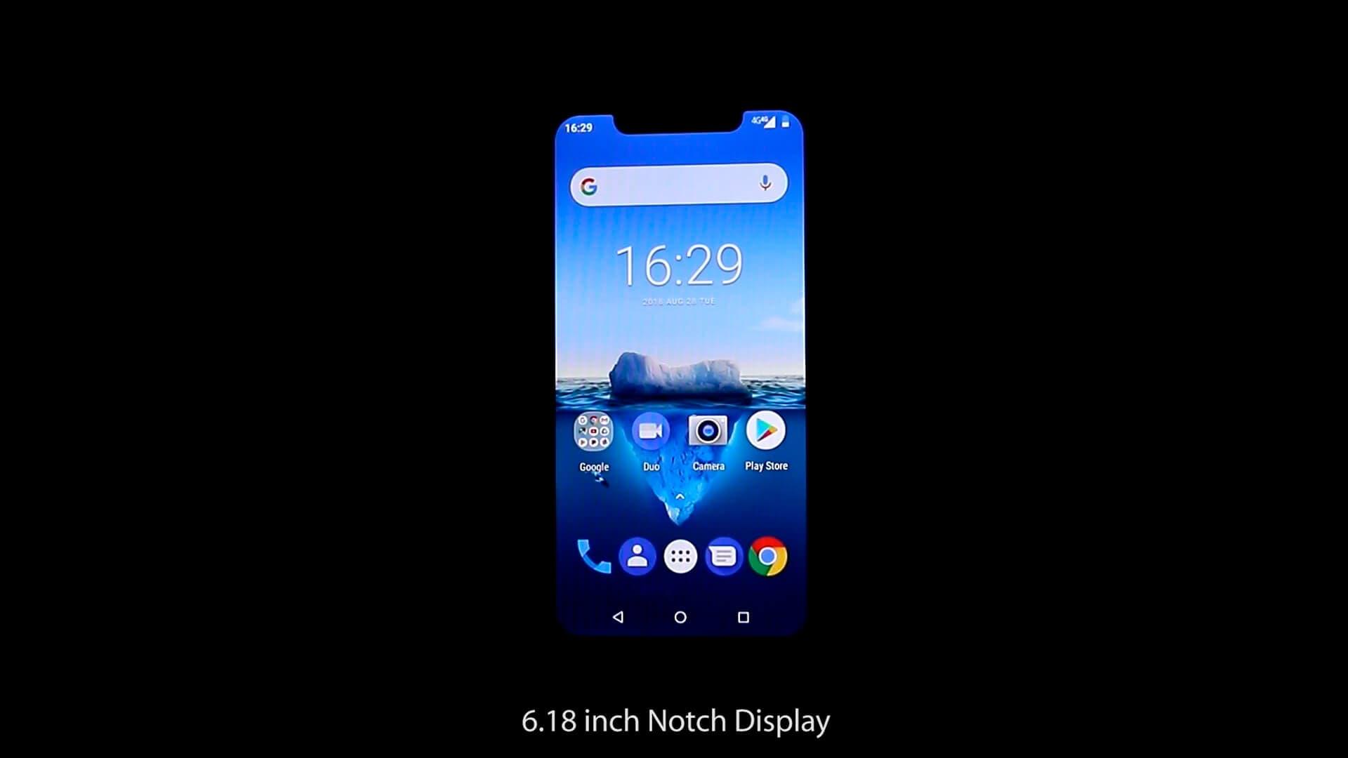 OUKITEL C12 Pro pantalla