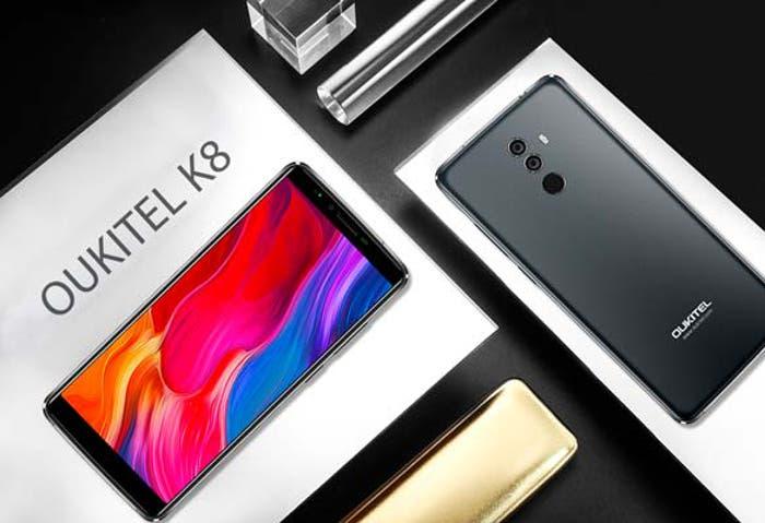 Oukitel K8: un móvil económico con pantalla de 6 pulgadas y batería de 5.000 mAh