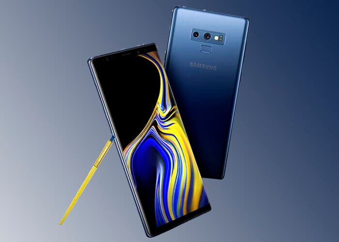 Precios del Samsung Galaxy Note 9 con Movistar, Orange y Vodafone