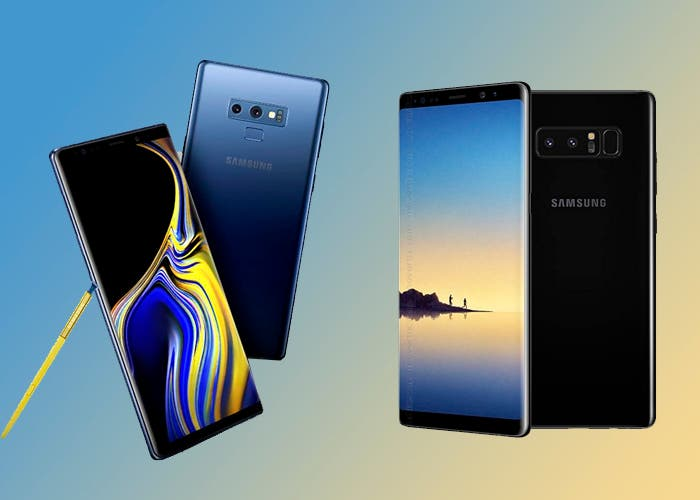 Samsung Galaxy Note 9 vs Samsung Galaxy Note 8: ¿qué ha cambiado?