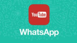 YouTube y WhatsApp