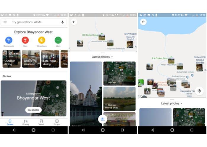 """Google Maps actualiza sus fotografías con la pestaña """"Explora"""""""