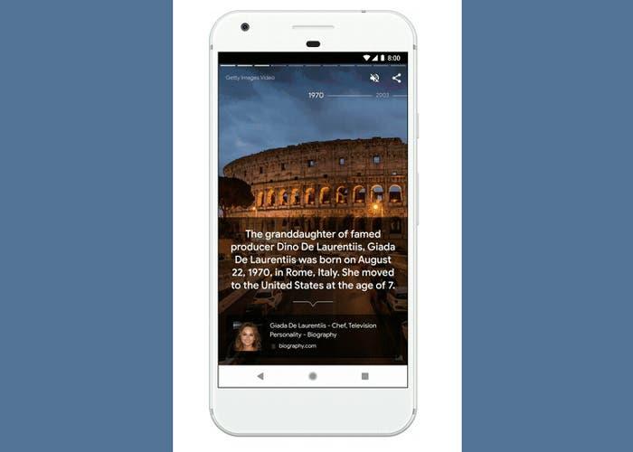 Google Stories: el contenido visual se hace un hueco en Google