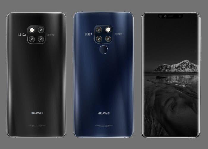 Huawei Mate 20 y Mate 20 Pro: se filtran nuevas imágenes en alta calidad
