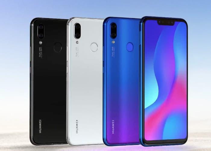 Huawei P Smart +: Inteligencia Artificial, cuatro cámaras y más