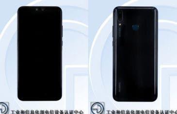 El Huawei Y9 (2019) se filtra en TENAA confirmando su diseño y especificaciones