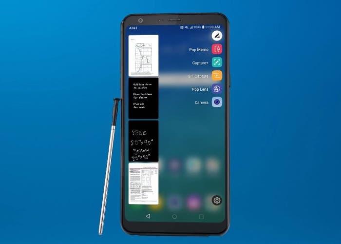 LG Stylus 4+: un gama baja con gran pantalla y puntero a un precio asequible