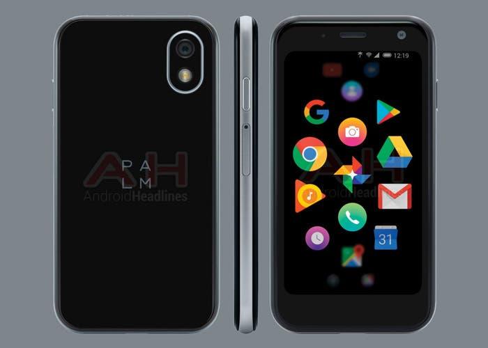 El smartphone Android de Palm reaparece en nuevas filtraciones