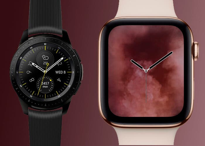 Apple Watch vs Samsung Galaxy Watch, la cosa va de relojes