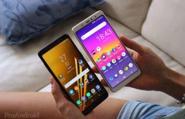 BQ Aquaris X2 Pro VS Samsung Galaxy A8