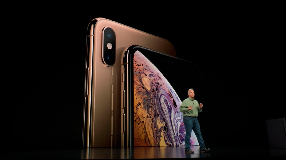iPhone Xs pantalla