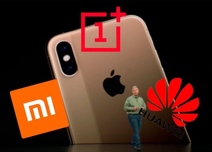 iPhone Xs vs gama alta Android ¿Cuál es la mejor opción?