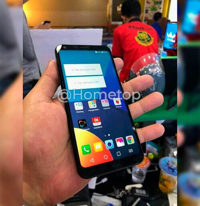 Imagen real del LG Q9
