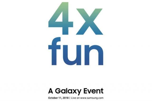 """Samsung presentará un nuevo smartphone con """"cuatro veces más diversión"""" el 11 de octubre"""