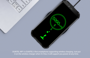 Oukitel WP1: el primer smartphone resistente con carga inalámbrica