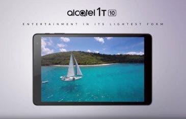 Dos nuevas tablets por 69 y 109 euros: Alcatel 1T 7 y 1T 10