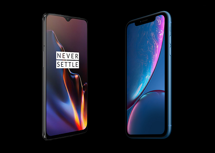 OnePlus 6T vs iPhone XR: comparativa de características