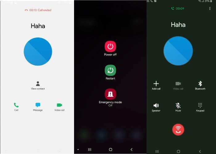 Samsung Galaxy S9: nuevas imágenes de la beta de Android 9 Pie con Samsung Experience 10