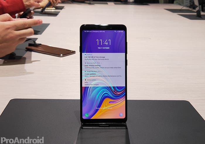 Primeras impresiones del Samsung Galaxy A9 2018: esto nos ha parecido el nuevo gama media