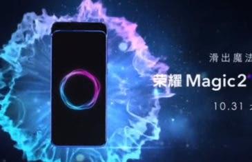Honor Magic 2: el nuevo vídeo en el que se muestra el mecanismo retráctil