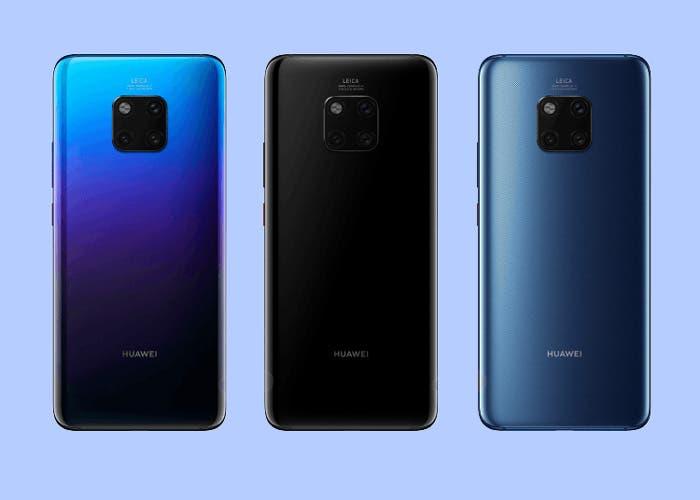 Huawei Mate 20 Pro: se filtran todas las especificaciones y algunas fotografías oficiales