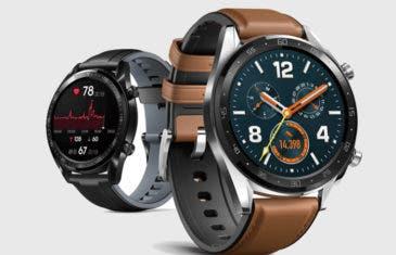 Huawei Watch GT: el nuevo reloj inteligente de Huawei ya es oficial
