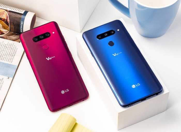 El LG V40 ThinQ es oficial: 5 cámaras, gran pantalla y mucha potencia