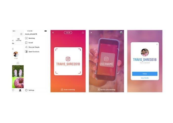 Instagram no se cansa de copiar a Snapchat — Nametags