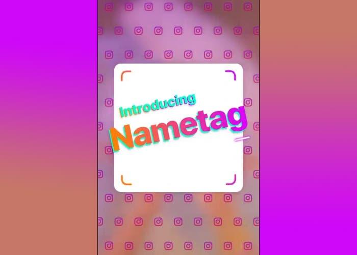 Instagram crea Nametag, una nueva herramienta para añadir amigos