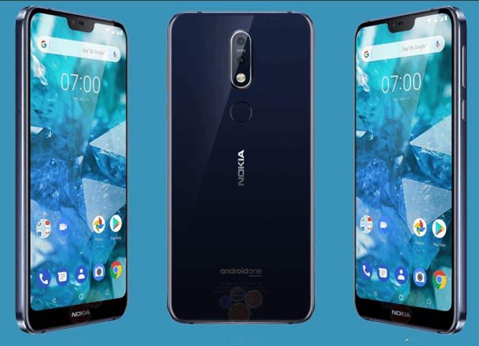 ¡Filtración! Todos los detalles del Nokia 7.1 al descubierto