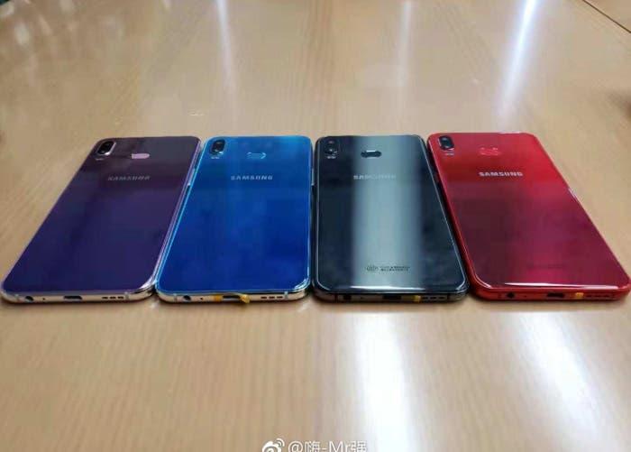 El Samsung Galaxy A6s se filtra en todas sus variantes de color
