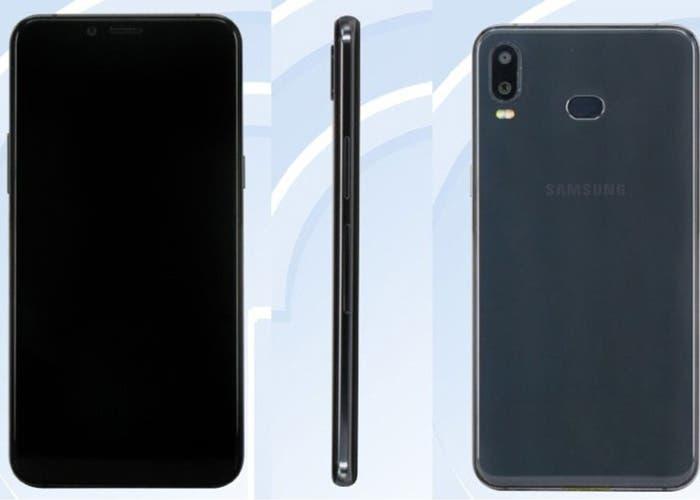 El Samsung Galaxy A6s se deja ver en TENAA mostrando sus características