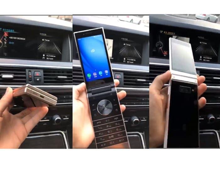 El primer vídeo filtrado del Samsung W2019 confirma su diseño