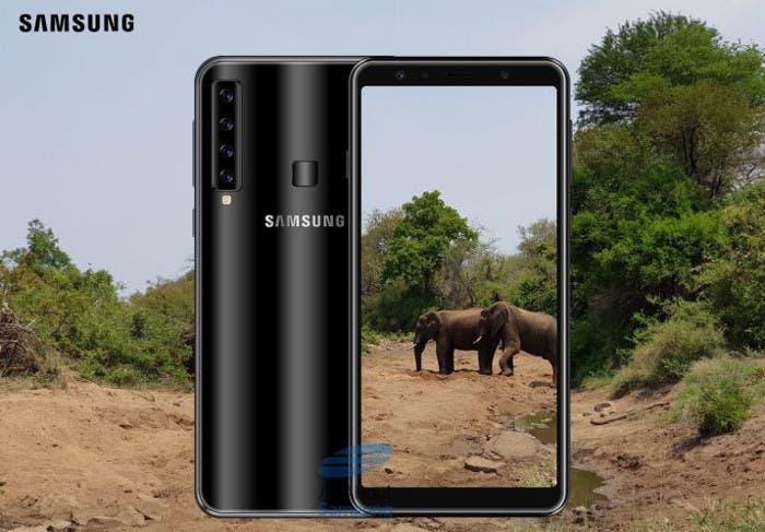 Samsung Galaxy A9s: Snapdragon 660 y 4 cámaras en la parte trasera