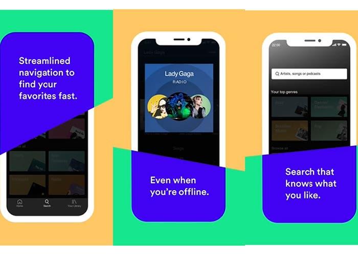Actualización en Spotify: nueva radio, navegación y búsquedas personalizadas