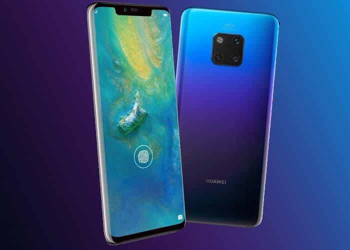 Imágenes muestran al supuesto Huawei Mate 20X