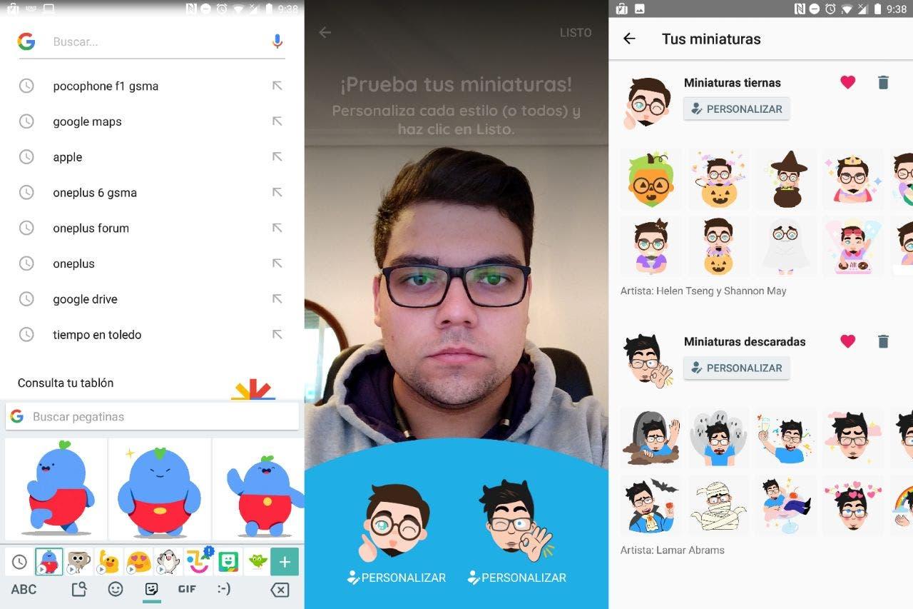 Ahora podrás crear emojis personalizados con tu cara — Google