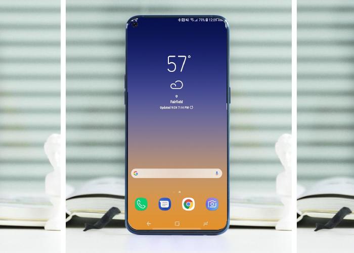 Así es el primer teléfono Samsung sin marcos, sin notch y con un agujero en la pantalla