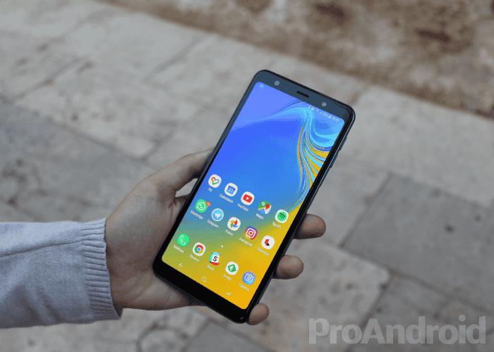 Análisis del Samsung Galaxy A7 2018: el primer teléfono de la marca con tres cámaras