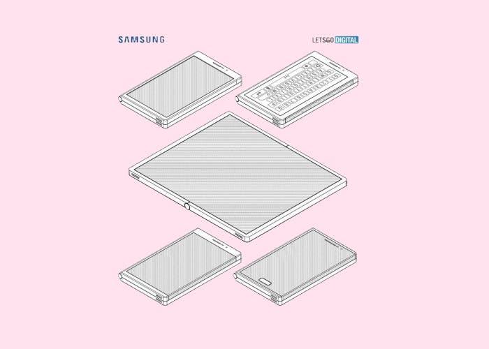 Samsung lanzará teléfonos plegables cada año y con nuevos diseños patentados