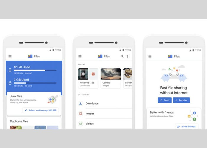 Files de Google: el gestor de archivos cambia de nombre y renueva la interfaz