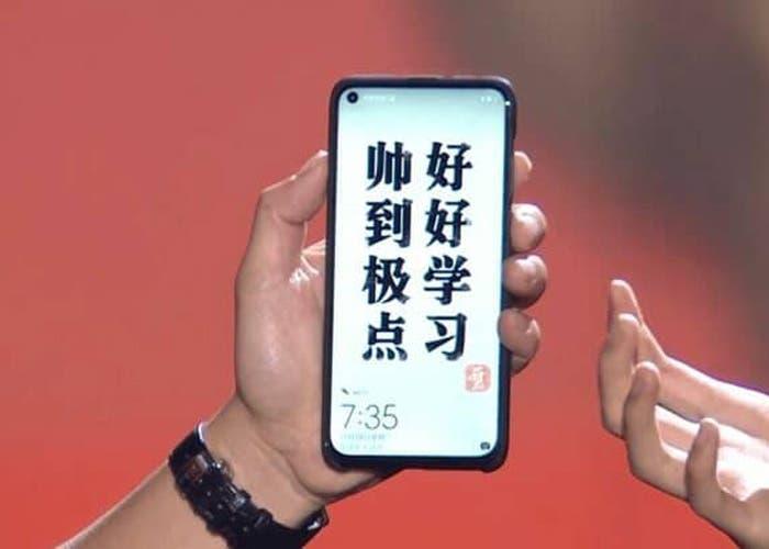 Huawei Nova 4: las imágenes del primer teléfono con agujero en pantalla de Huawei